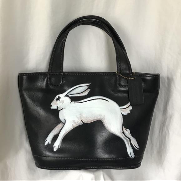 Coach & Gucci Rabbit L'Aveugle Amour Leather Bag